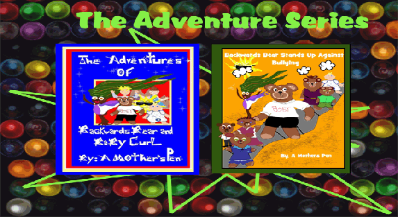 The Adventure Series Backwards Bear and Baby Curl